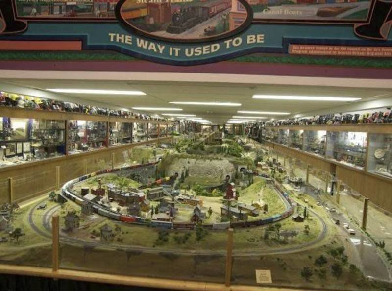 Railroad museum A must-see for history, model buffs