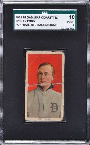 Rare Ty Cobb Baseball Card Found Locally Could Sell For 100k