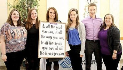 NU's 'Niagara Plunge' service program honored