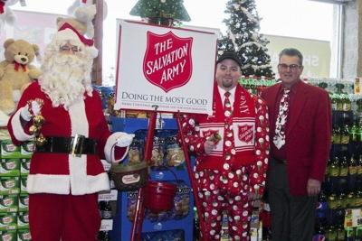 Falls Salvation Army leader announces 24-hour Red Kettle stand