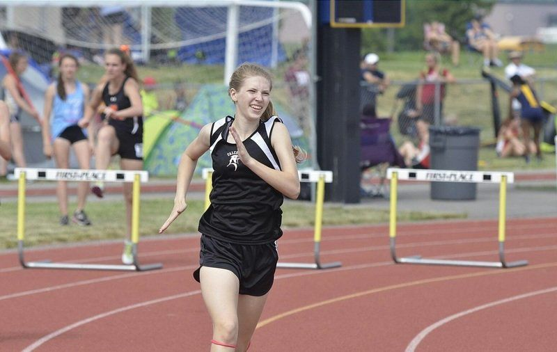 Lady Falcons were tracking toward school history