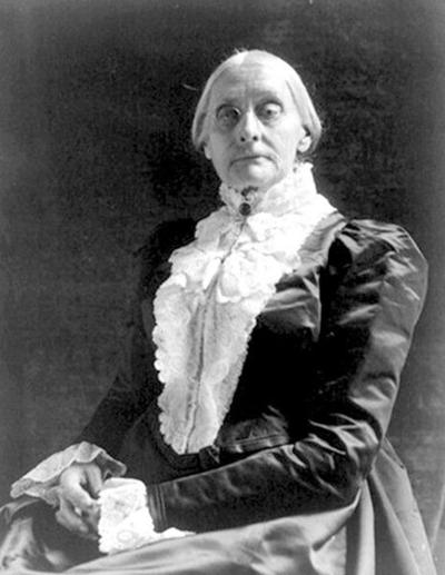 Birthday tribute to Susan B. Anthony set for Saturday