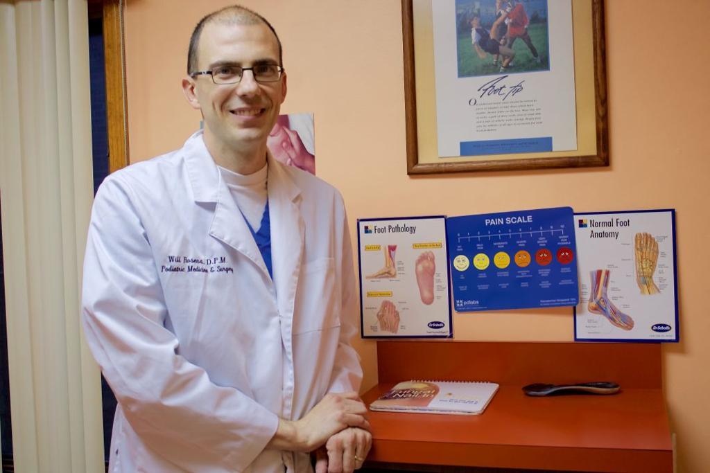 Dr  Will Rosena takes over North Tonawanda podiatry practice | Local