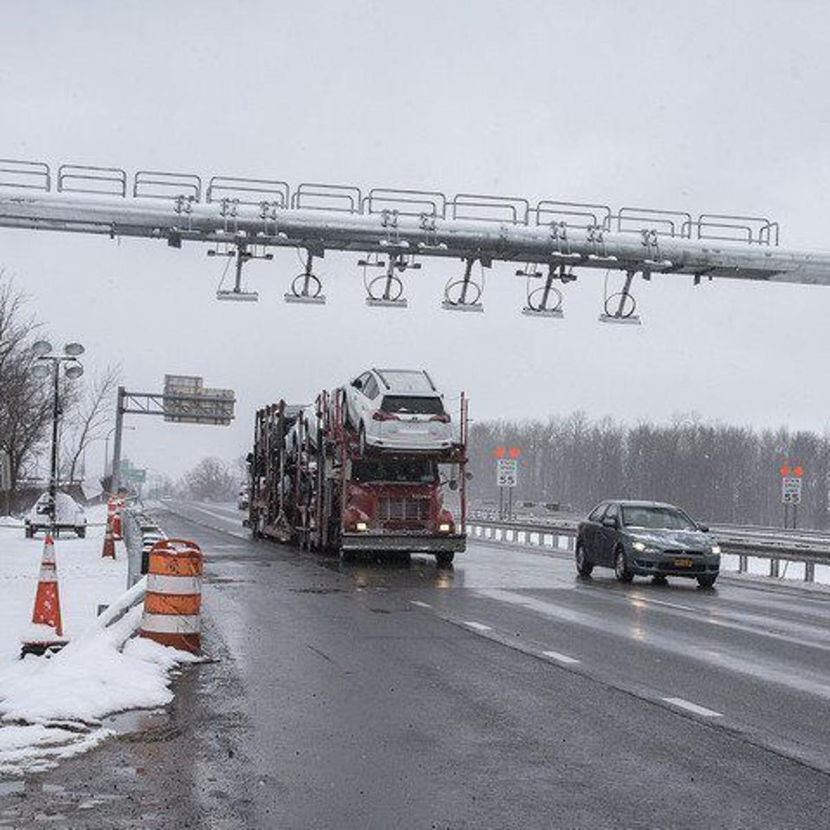 Lawsuit targets toll collection practices on Grand Island