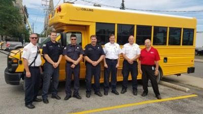 LFD's newest vehicle: a donated school bus
