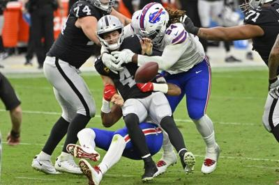 Bills D finally makes a stand in sealing win over Raiders