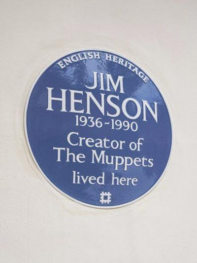London honors Muppets creator Jim Henson with blue plaque