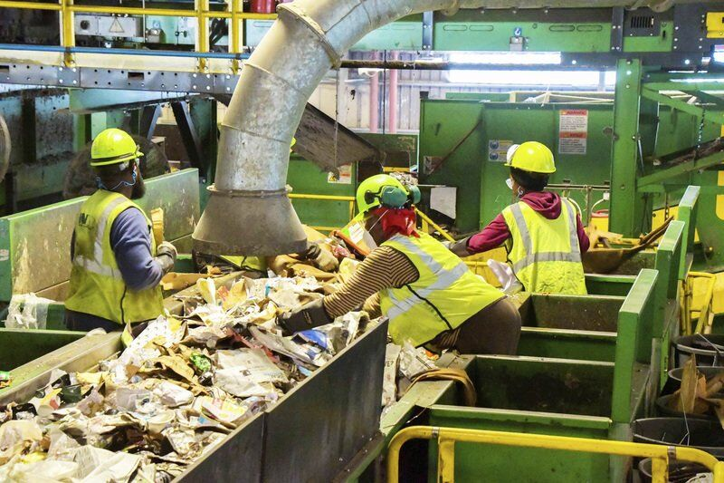 Talking trash — and acceptable recyclables