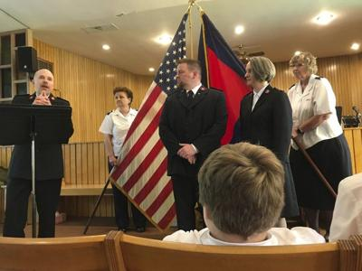 A 'major' promotion for Falls Salvation Army commanders