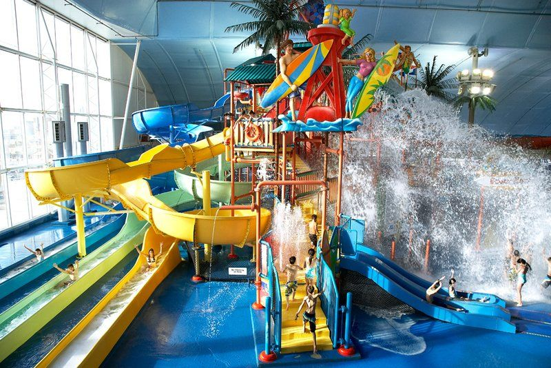 Close-to-home indoor waterparks offer warm-weather fun during cooler months