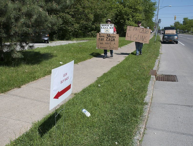 Taking aim at buybacks and gun raffles | Local News
