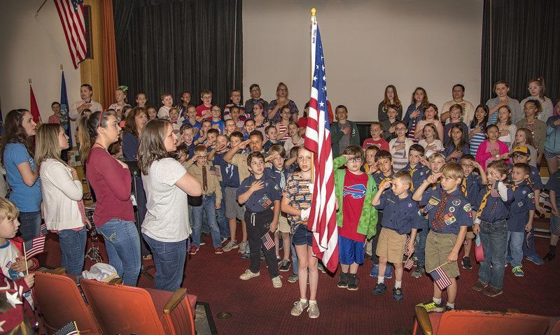 Flag Day ceremonies honor Old Glory