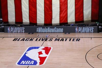 A 2nd day of NBA playoffs halted over racial injustice
