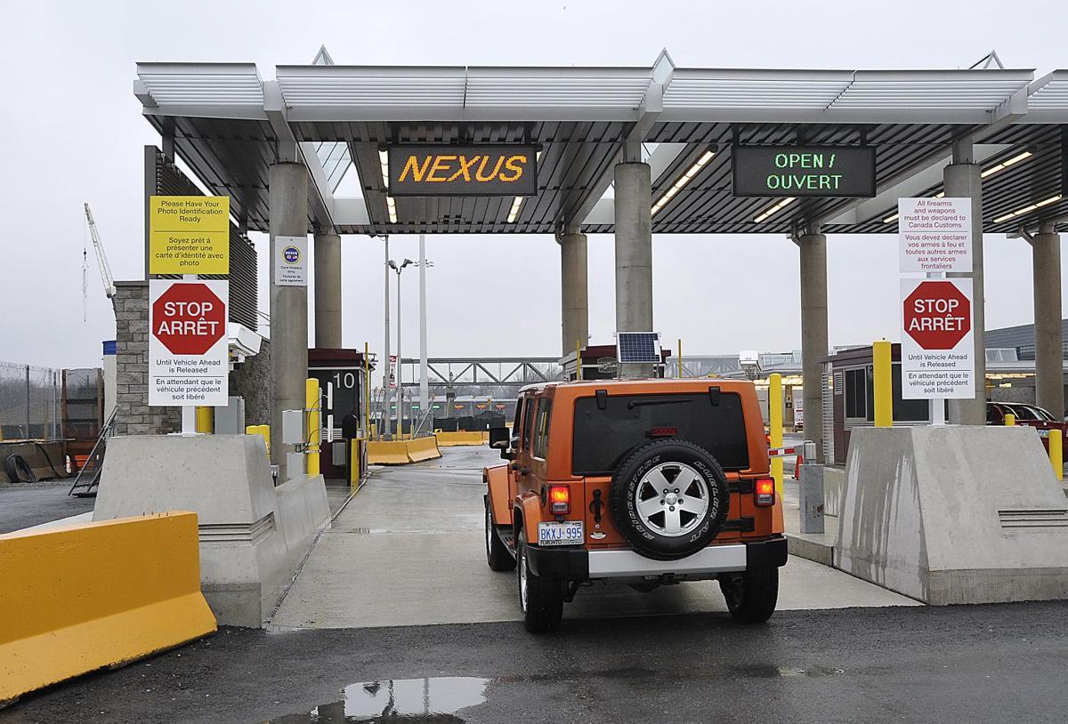 Carte Nexus Canada.Nexus Gets A Boost Local News Niagara Gazette Com