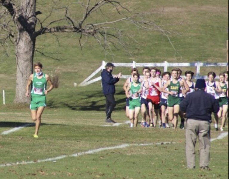 Lew-Port senior Justin Pavan takes Class B-2 cross country crown