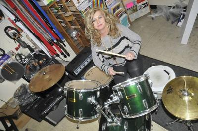 Jerry D'Amico Music Store has the beat this Saturday with special percussion clinic