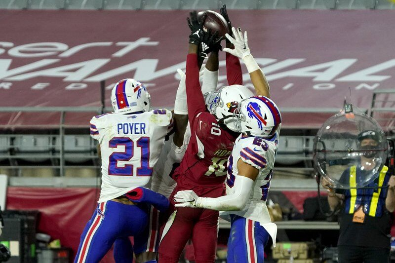 Cardinals stun Bills on miraculous Hail Mary in final seconds