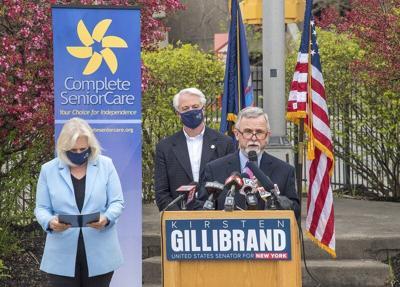 Gillibrand touts prescription drug prices bills at Falls event