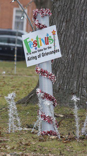 SCHEER: Let the airing of grievances begin!