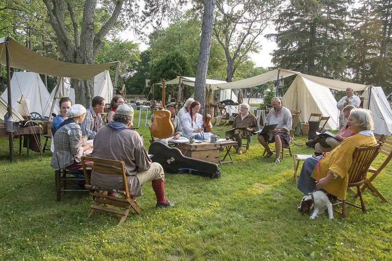 Fort Niagara readies for 40th French and Indian War encampment