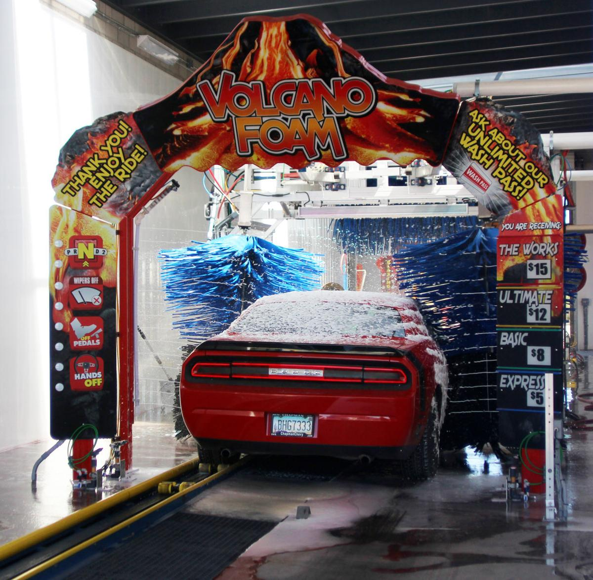 how to build a drive through car wash