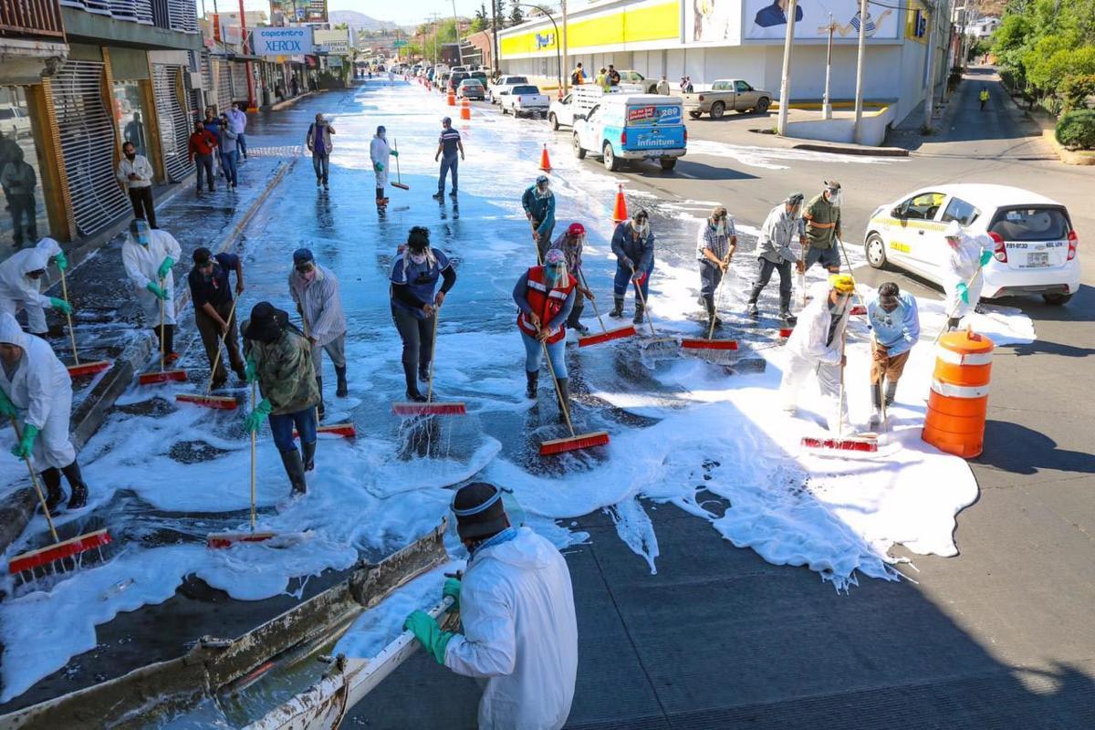 Street sanitation Sonora