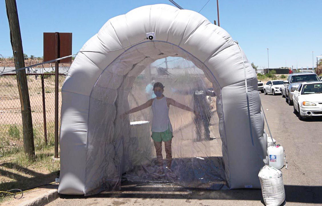 Sanitizing Nogales Sonora
