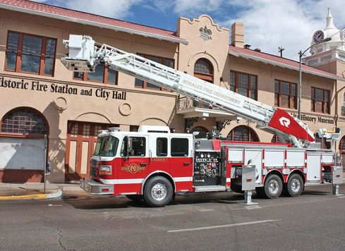 New nfd fire trucks ladder stretches 101 feet local news stories new nfd fire trucks ladder stretches 101 feet freerunsca Choice Image