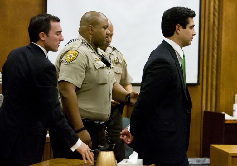 3.5 years in prison for Garcia-Von Borstel
