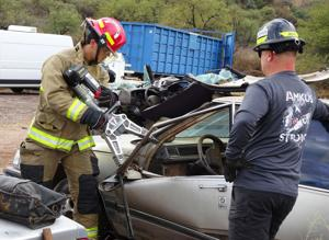 Grant helps Nogales Fire upgrade its extraction gear