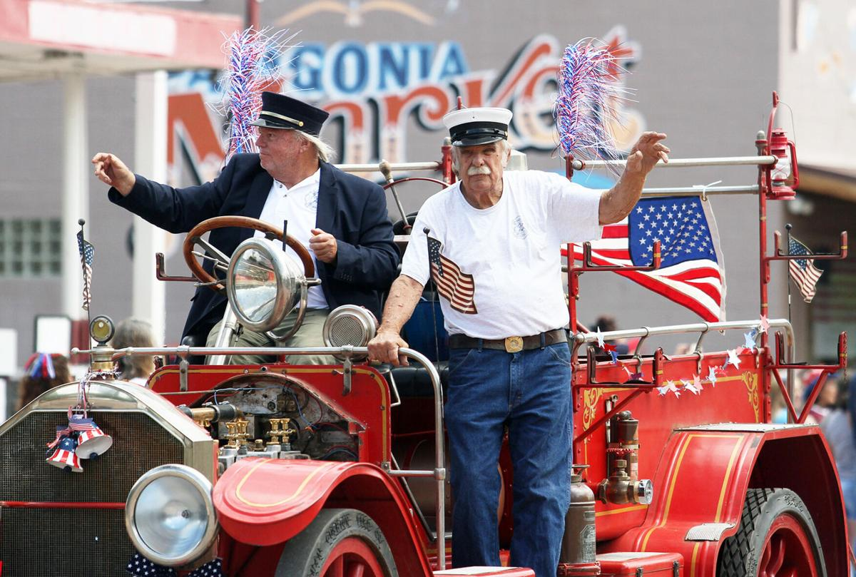 Patagonia July 4 parade