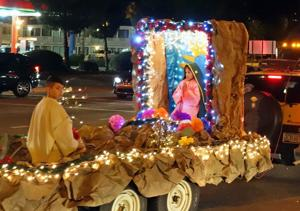 Congregations take to the streets to celebrate Virgin of Guadalupe