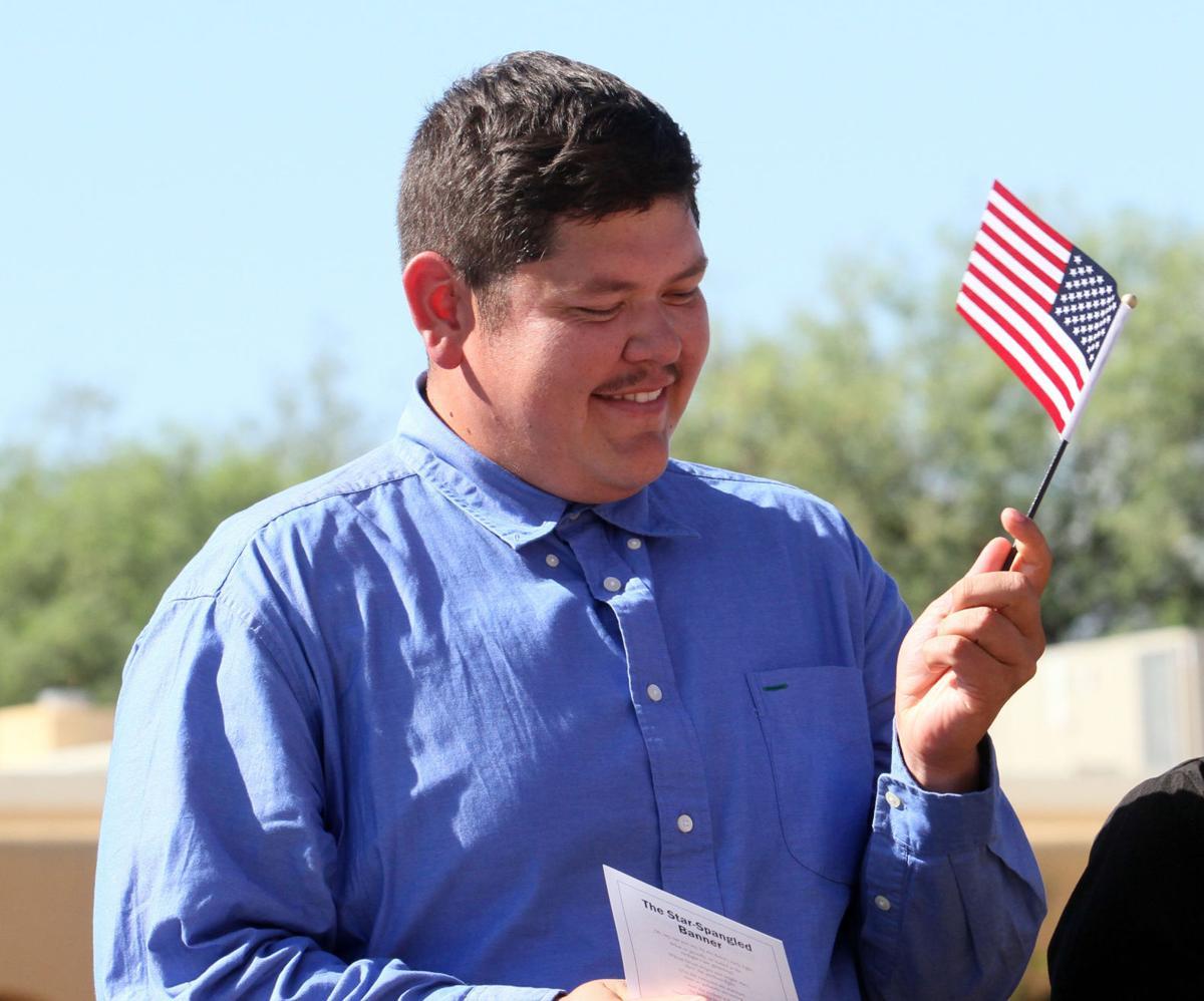 flag waiving
