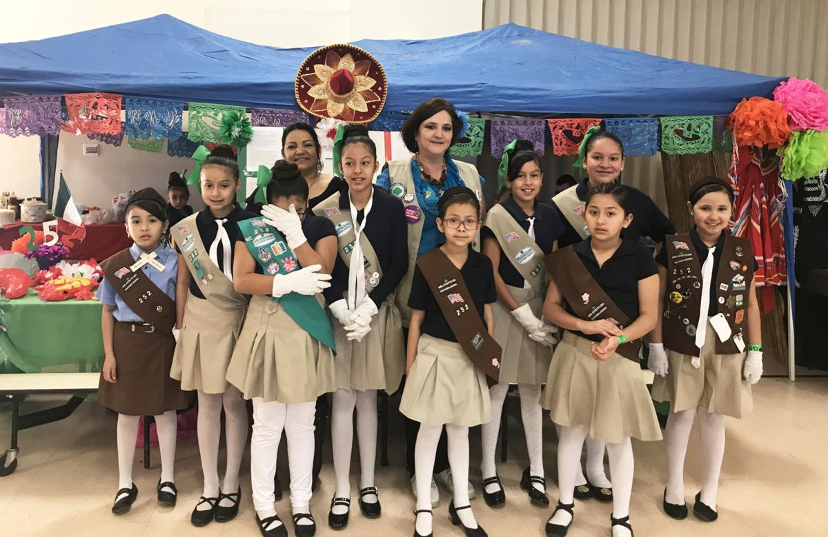 girl scouts celebrate world thinking day community