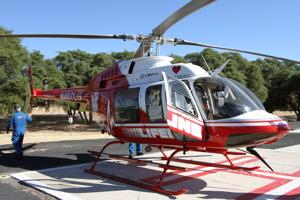 Medical helicopter service closes base in Nogales