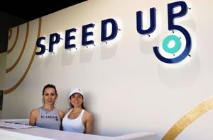 Locals 'speed up' at new fitness studio