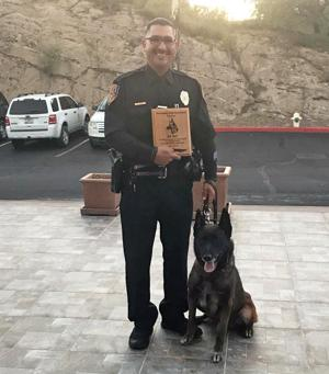 Nogales Police Dept. canine retires to home of his handler