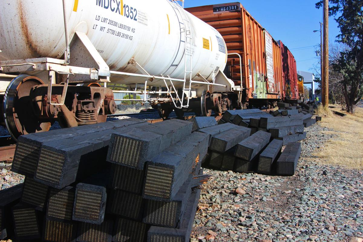 Neighbors say smell from railroad ties is making them sick   Local