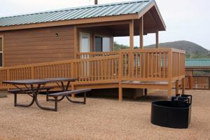 Cabins are new lodging option at Patagonia Lake