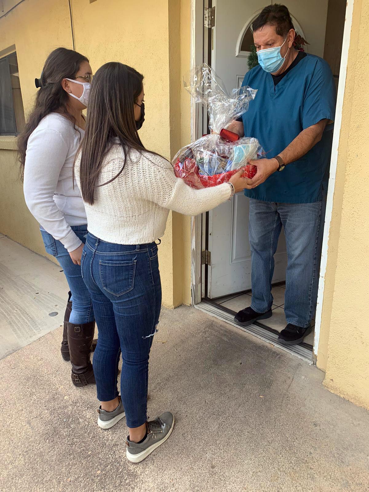 Future Health Leaders gift baskets