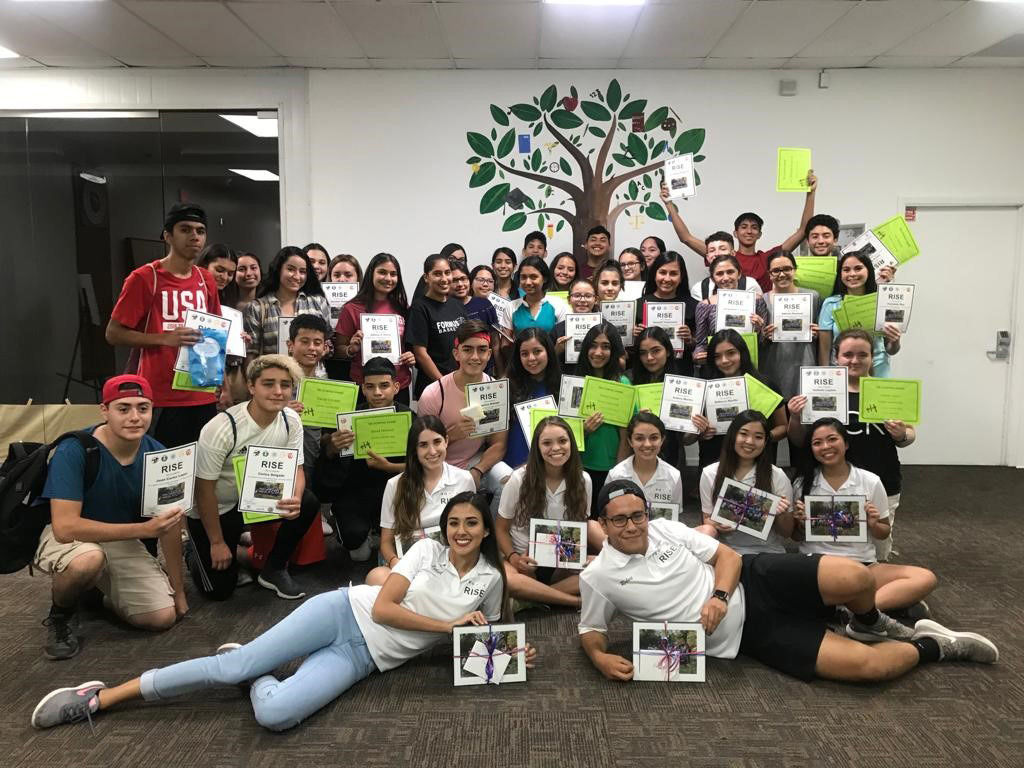 Young Leaders RISE Summer Camp