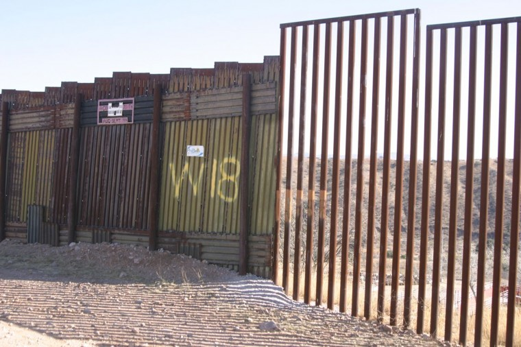 Nogales border-fence revamp under way