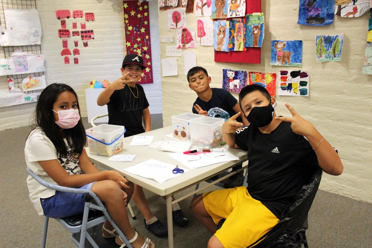 Hilltop summer art classes