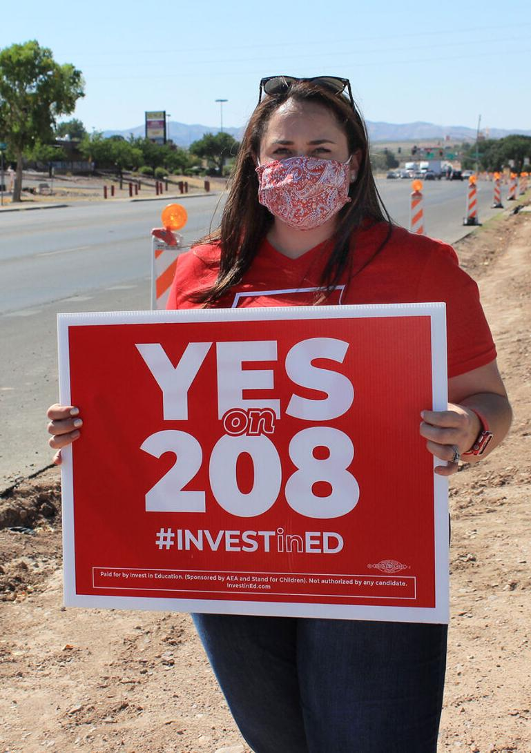 Red for Ed - Proposition 208