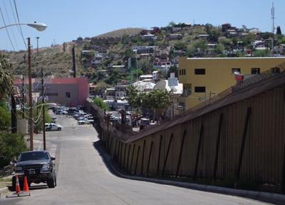 Giffords asks for new Nogales border wall, irking Grijalva