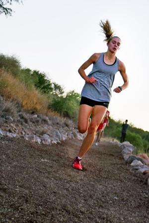 Samantha Schadler is running her own race