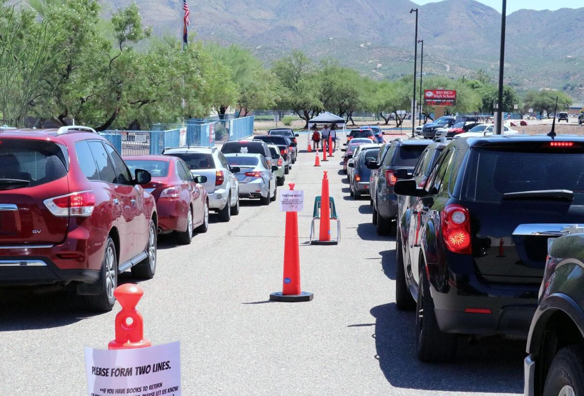RRHS drive-thru registration