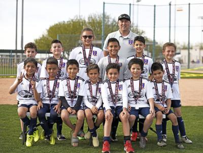 fb05b83df Youth soccer team takes second place