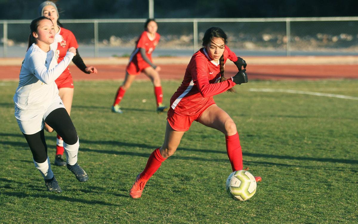 RRHS girls soccer