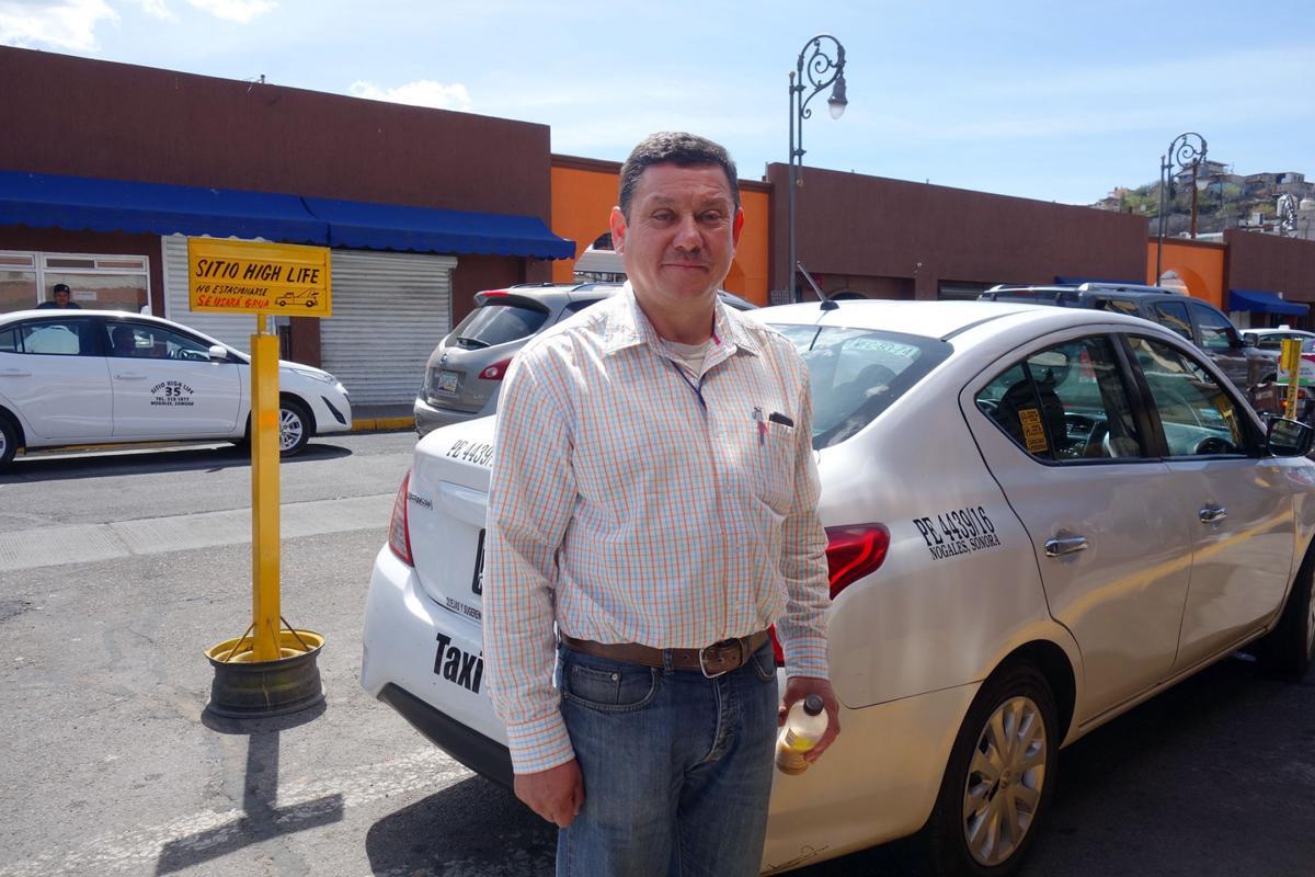 Nogales Sonora taxi driver